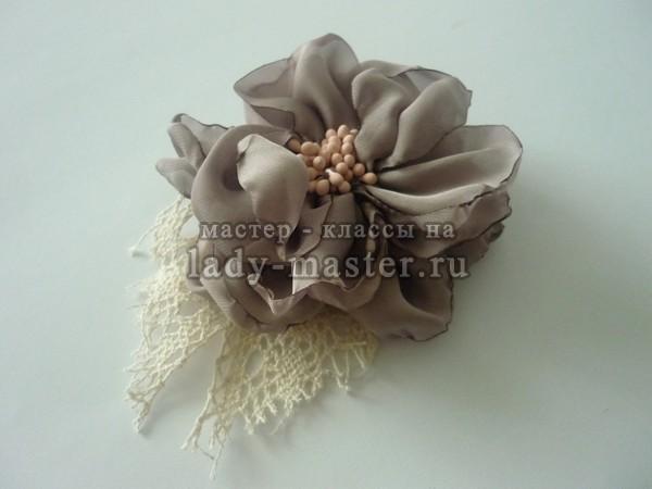 цветок украшение в волосы, фото
