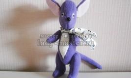 Мягкая игрушка «Мышонок» своими руками — мастер-класс