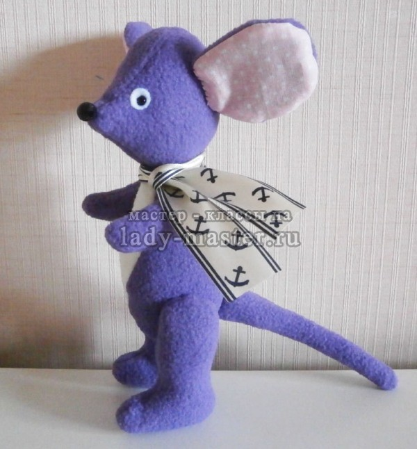 Мышонок своими руками, фото