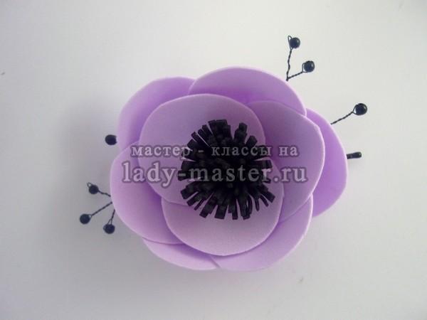 Цветы из лент своими руками мастер класс ромашка фото 874