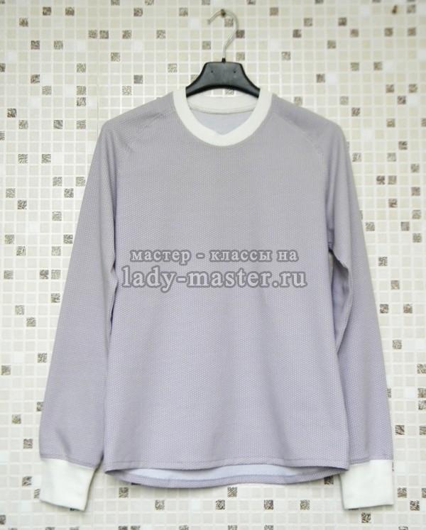 женский свитер реглан, фото
