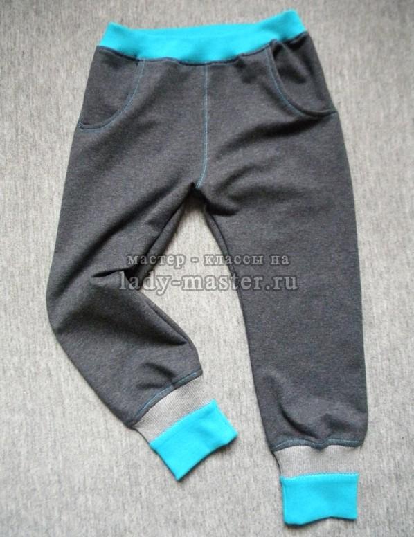 штаны с карманами на мальчика, фото