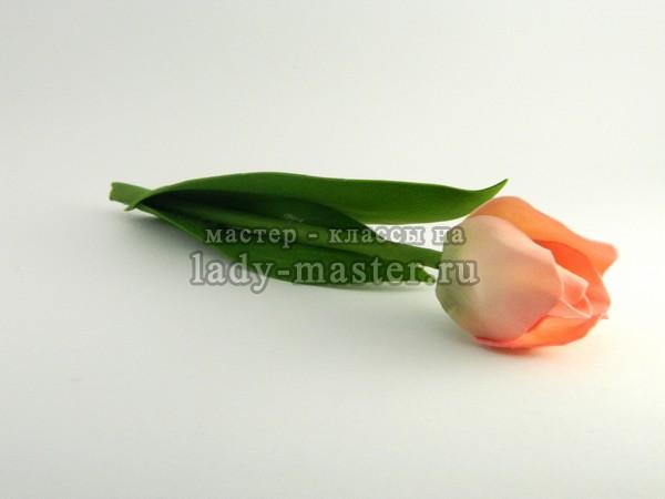 тюльпаны из фоамирана, фото