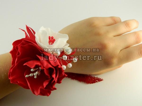 Цветок на руку на выпускной своими фото 952
