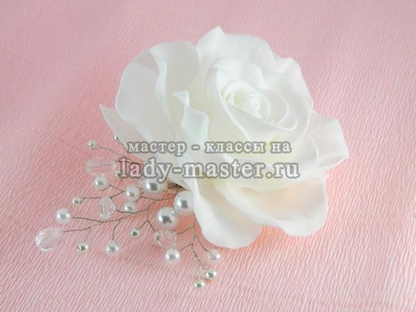 свадебный гребень для волос, фото