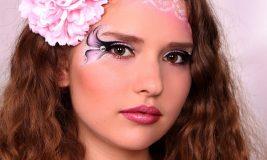 Яркий макияж для весенней фотосессии