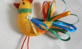 Елочная игрушка «Петушок»
