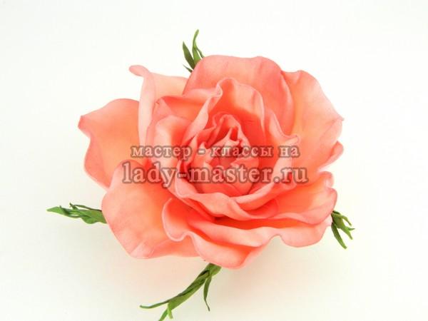 розы из фоамирана фото