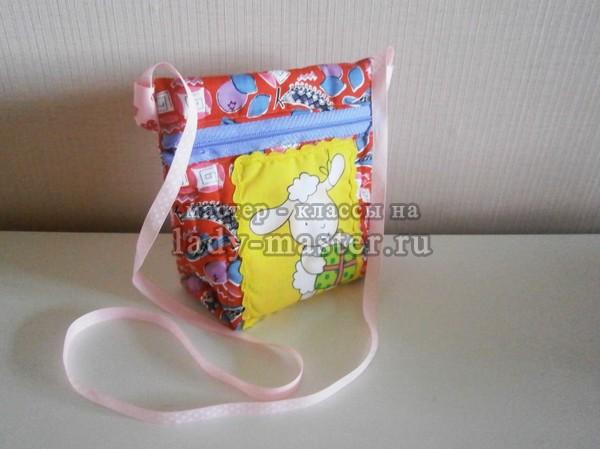 6e4a3bf98c2c Летняя сумочка с аппликацией для девочки, мастер - класс с фото ...