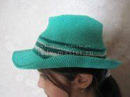 Шляпа-федора для ребенка 8–10 лет своими руками