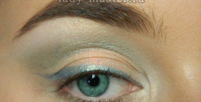Легкий летний макияж для зеленых глаз