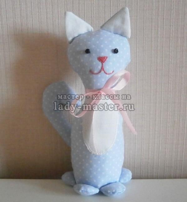 игрушка котик своими руками, фото