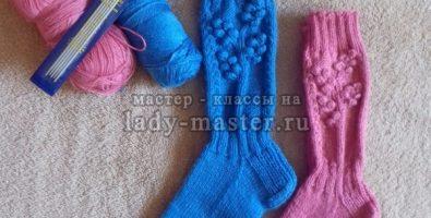 Мастер-класс по вязанию носков «Первые заморозки»