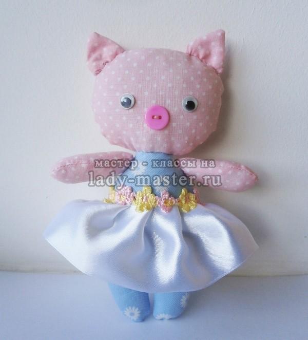 Мягкая игрушка «Свинка-балеринка»