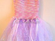Новогоднее платье для девочки «Маленькая фея»