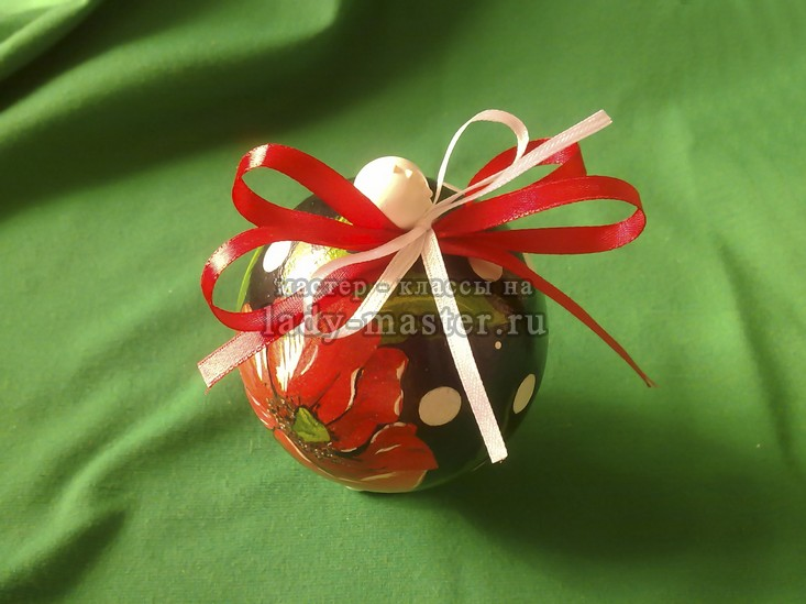 елочный шар шкатулка, фото