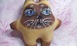Мастер-класс изготовления кофейного котёнка Гав