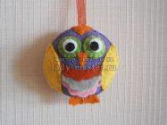 Новогодняя игрушка «Маленькая сова»