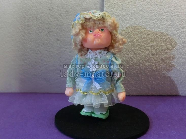 кукла пупс из полимерной глины, фото