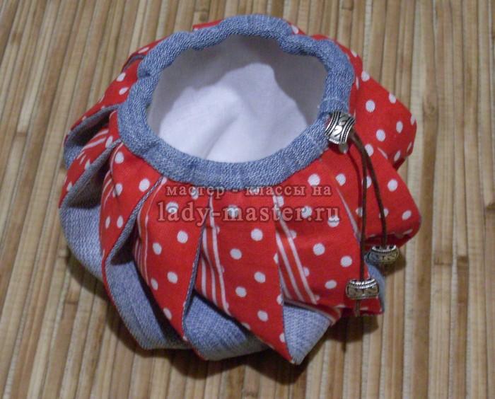 Японская лоскутная сумка омияге, фото
