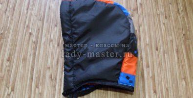 Уменьшаем капюшон на готовой детской куртке своими руками