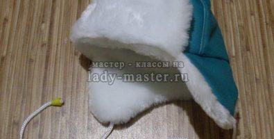 Зимняя шапка для малыша своими руками