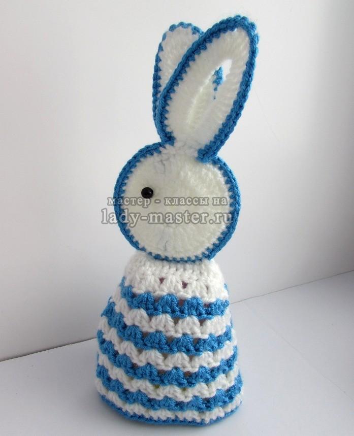 пасхальный кролик крючком, фото