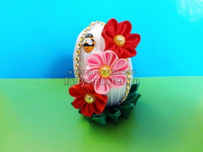 пасхальные яйца канзаши, фото