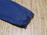 Укорачиваем рукава в женской джинсовой куртке своими руками