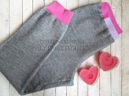 Как сшить пижамные штаны с манжетами