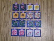 Развивающая игра «Мемори» на тему «Цветы» своими руками