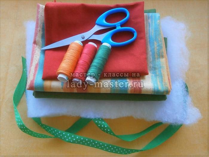материалы для пошива прихватки