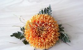 Хризантема из фоамирана — как сделать своими руками украшение для волос