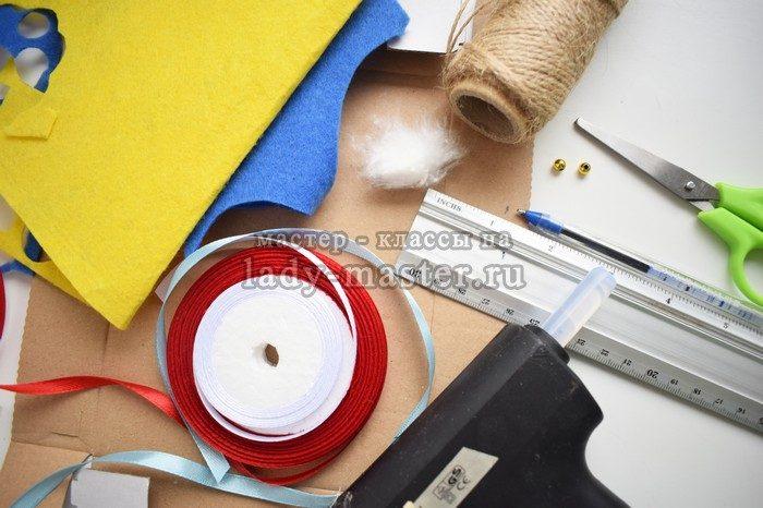 материалы для изготовления елочки