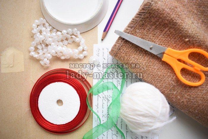 материалы для создания новогодних подвесок