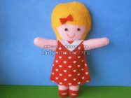 Куколка из фетра — 2 — ой вариант пошива