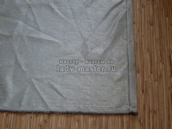 подготовка ткани к пошиву