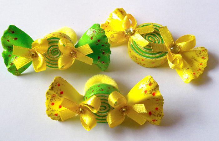 резинки конфетки из фоамирана фото
