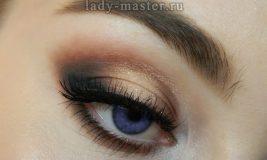 Как сделать макияж в теплых коричневых тонах — урок с фото