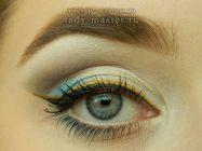 Модный летний макияж для глаз — пошаговый урок