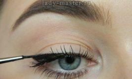 Макияж глаз со стрелками — как правильно нарисовать ровно и красиво