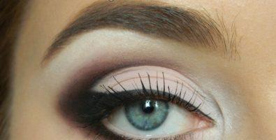 Как сделать красивый вечерний макияж для серых глаз