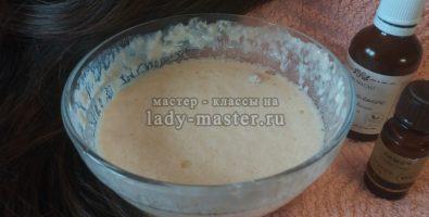 Рецепт маски для объема, питания и утолщения волос с дрожжами