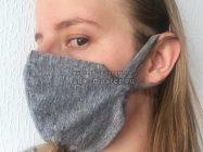 Как сшить многоразовую маску для лица за несколько минут своими руками
