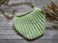 Модная сумка-ракушка крючком