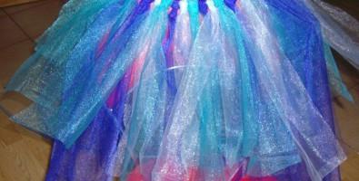 Новогодний костюм феи для девочки, мастер — класс