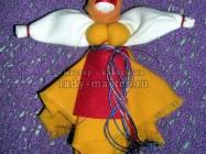 Кукла-оберег для охраны человека от всяких бедствий своими руками