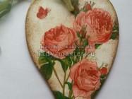 Интерьерное сердце-валентинка своими руками