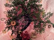 Денежное дерево с фигуркой бога Хотея своими руками