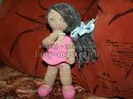 Вязаная куколка крючком